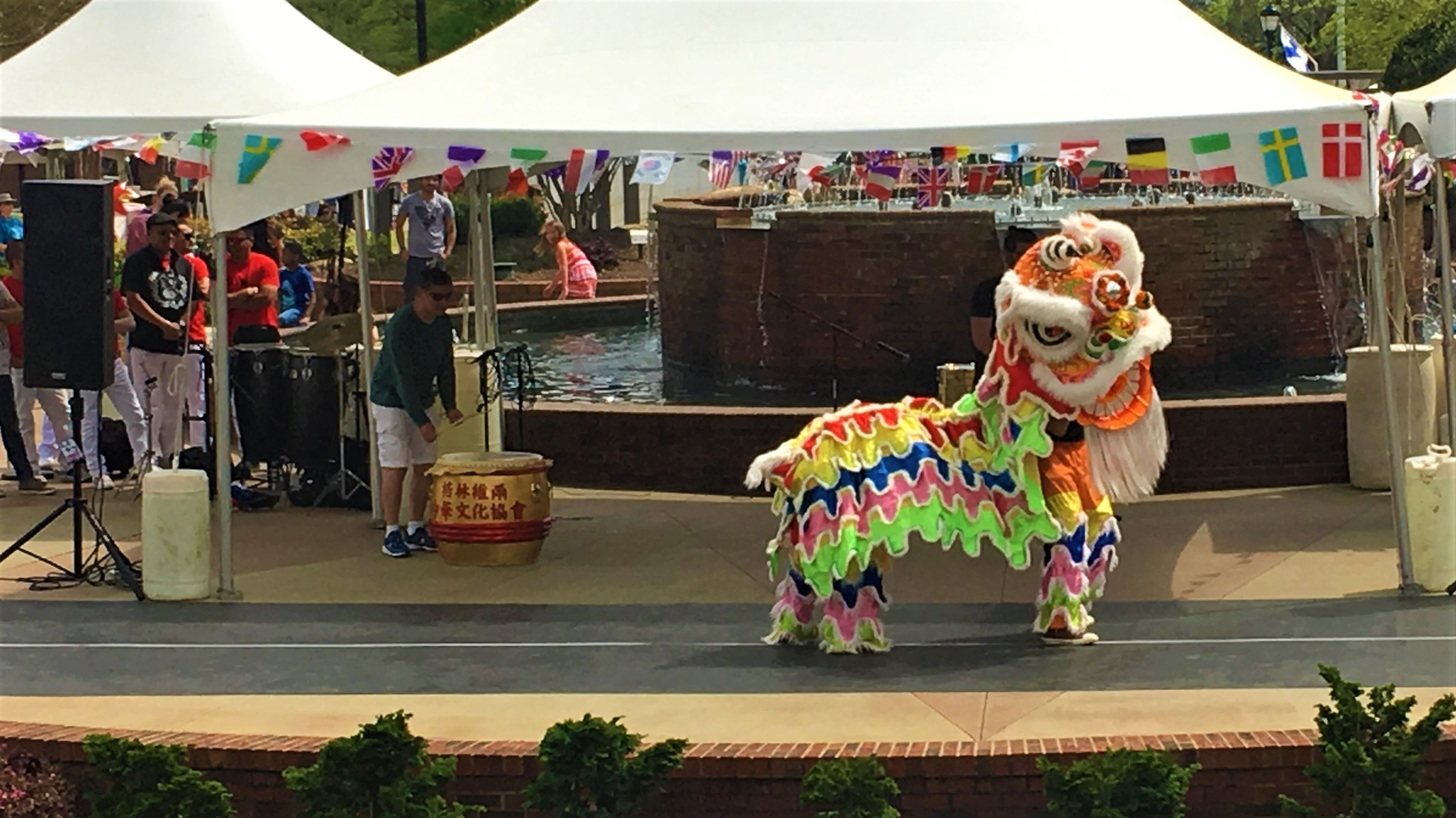Chinese Dragon at the Greer International Festival
