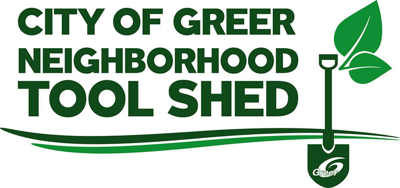 City of Greer Neighborhood Tool Shed logo