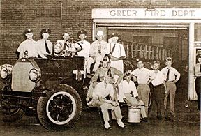 Historical Photo of the Greer Fire Department