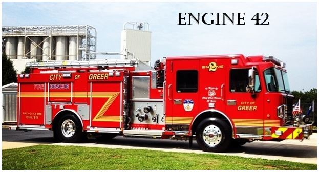 """Engine 42"" Fire Truck"