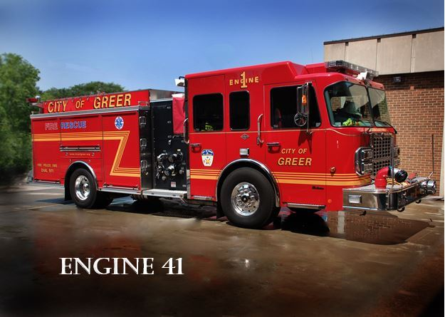 """Engine 41"" Fire Truck"