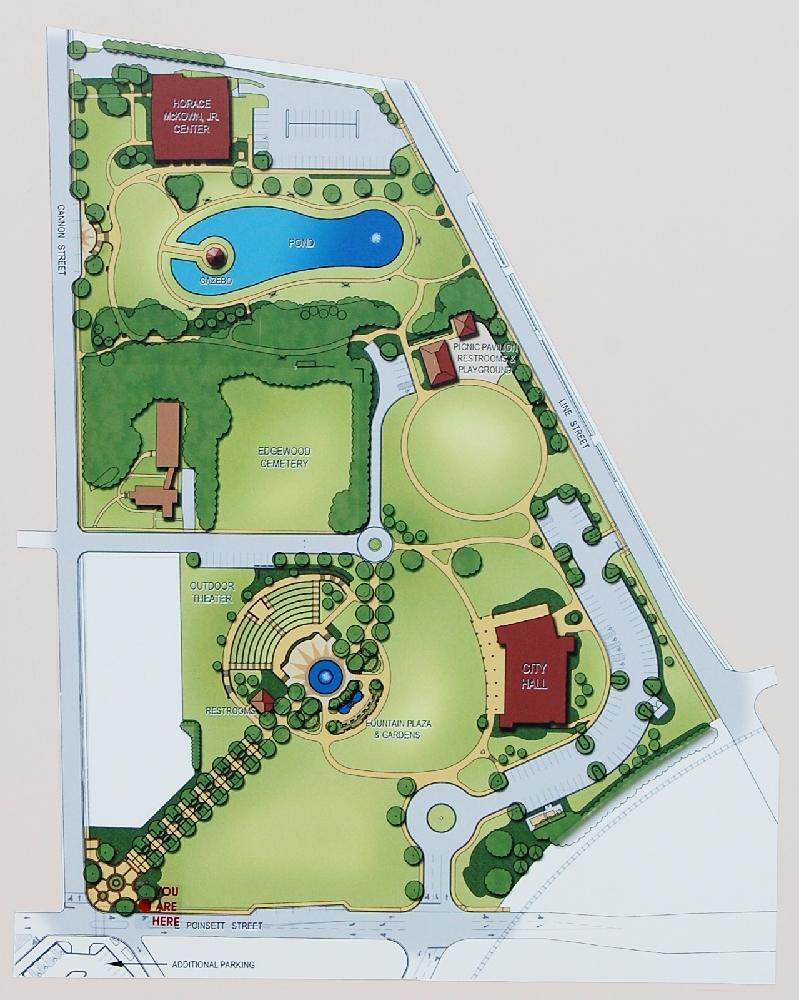 on city park map