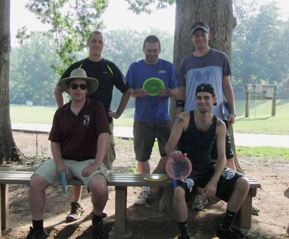 Iron Man Disc Golf Pro and Advanced Division Participants