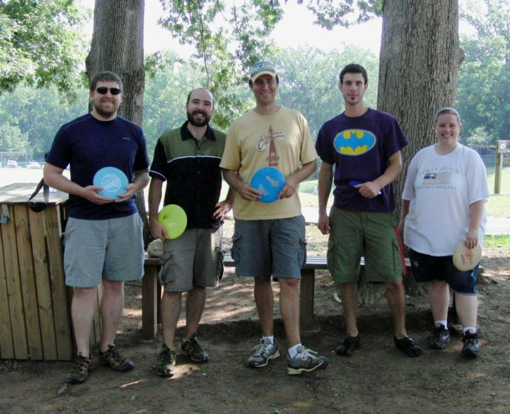 Iron Man Disc Golf Intermediate Division Participants