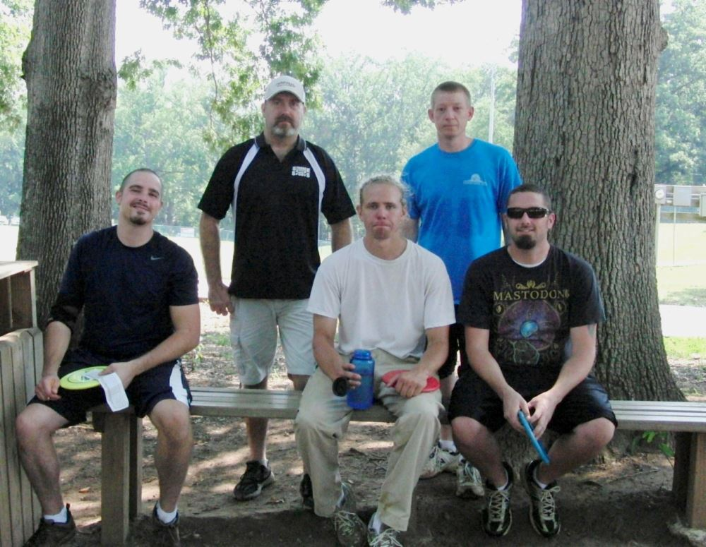 Iron Man Disc Golf Advanced Division Participants