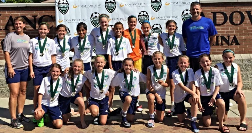 Foothills Soccer Club of Greer Girls Championship Team