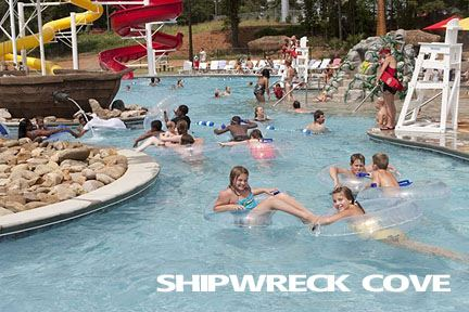 Shipwreck Cover Water Park Greer Sc