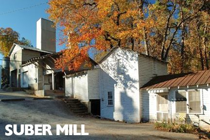 Old Mill Painted White